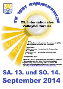 Volleyballturnier2014v2